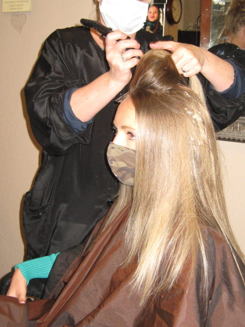 Before Hair Color by Salon Ron Dev U